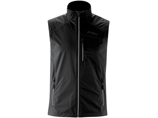 Maier Sports Juval Gilet sans manches Softshell Homme, black